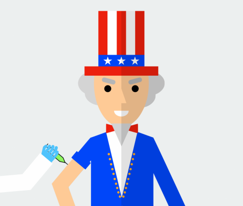 The United States government has been distributing vaccines for COVID-19 to the American people as part of the effort to stop the spread of the virus.