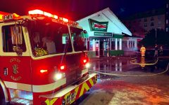 On Feb. 10, the historic Ponce De Leon Krispy Kreme was gutted by a fire, leaving behind a trail of grieving Atlantans. No one was injured in the fire, and investigators ruled the cause of the fire as arson.
