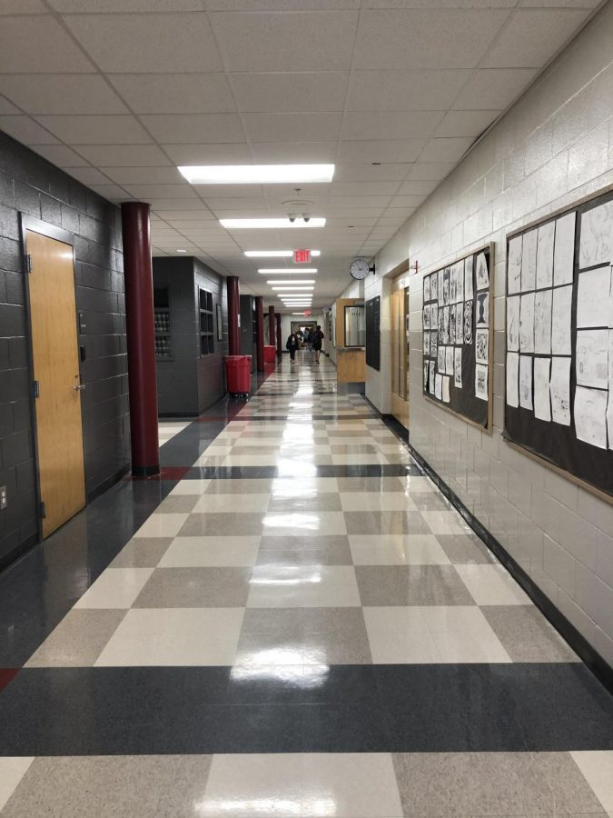 Students who opted to return to in-person learning entered the Grady building for the first time in almost 11 months, on Feb. 16. There they joined teachers who had been working in the building, preparing for students' return since early January.