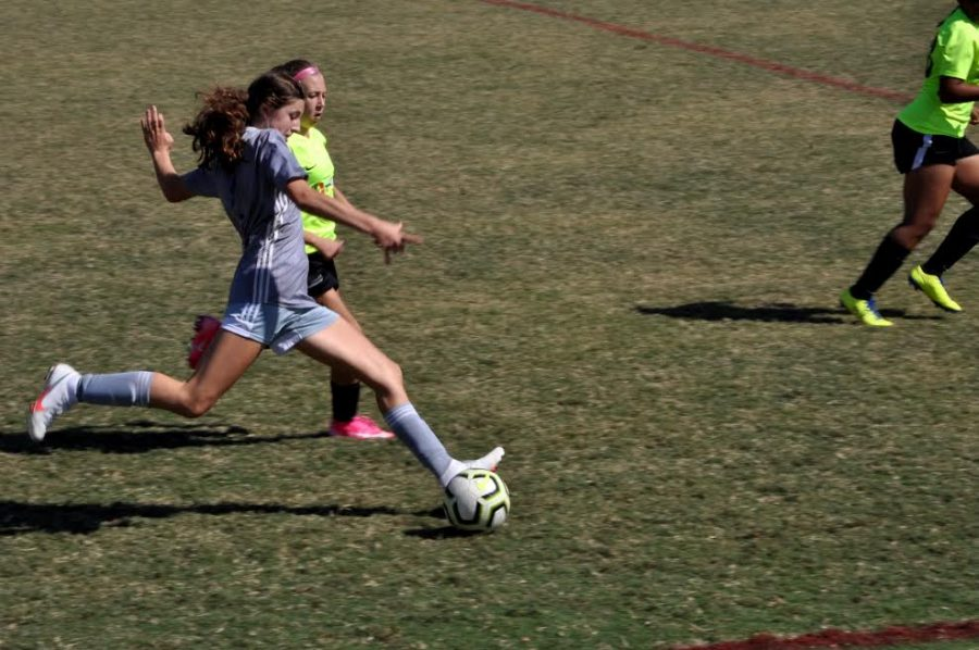Cate Barton has participated in club teams this year such as Inter Atlanta FC and AAU basketball. The postponing of middle school sports until the fall of 2021 has sparked some concerns about the ways Grady