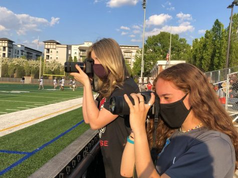 """Both girls describe photography as an outlet for expression, emotion, and creativity. """"Photography has helped me get out of my shell and helped me connect with the community around me,"""" said Garrett."""