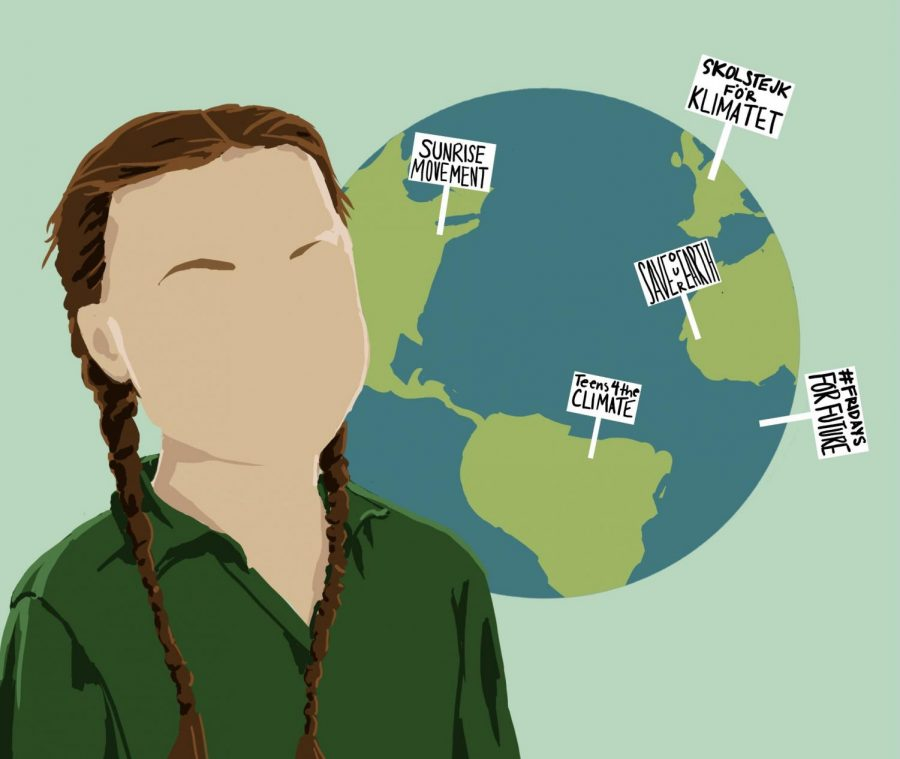 Youth+climate+activist+Greta+Thunberg+joins+others+worldwide+to+advocate+for+the+planet.+The+participation+of+young+people+in+the+climate+change+effort+is+essential+in+order+to+make+much+needed+change.+