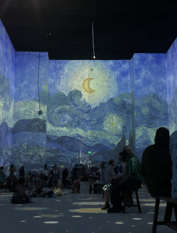 The Van Gogh Exhibit offers an immersive and moving experience of Van Goghs famous piece, The Starry Night.