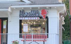 Morellis ice cream is located in Virginia Highlands, neighboring Taco Mac.