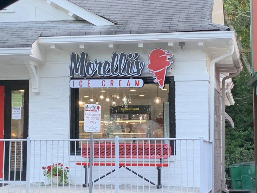 Morellis+ice+cream+is+located+in+Virginia+Highlands%2C+neighboring+Taco+Mac.