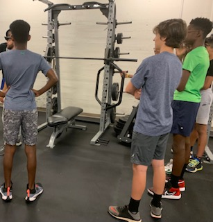 Midtown athletes are given the option to participate in morning strength and conditioning workouts.