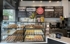 An assortment of flavorful doughnuts is available to customers at the newly opened Doughnut Dollies shop owned by Anna and Chris Gatti.