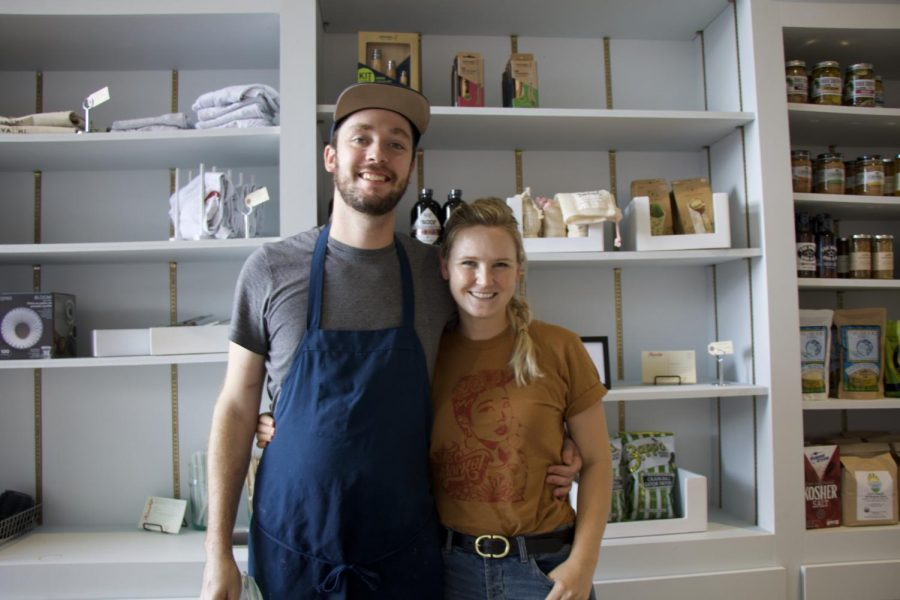 Owners Miles Moody and Rachel Pack opened Kinship in the Virginia Highlands late this August.