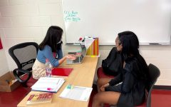 College Admissions Advisors offer accessible advice to students in the College and Career Center (CCC).