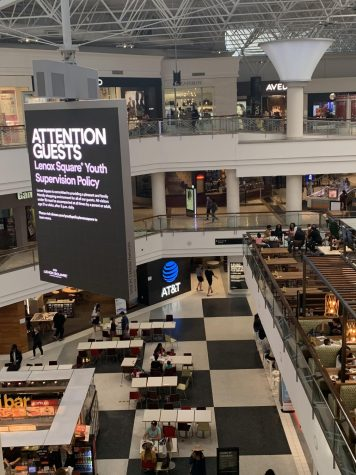 Lenox has signs posted throughout the mall alerting visitors of its new policies for those under 18. If a minor remains unaccompanied by an adult any day after 3 p.m., they will be asked to leave the Buckhead property.
