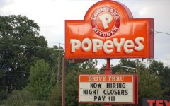 Fast food restaurants such as Popeyes have been searching for workers. The fast food industry is one of the most affected industries of the labor shortage.