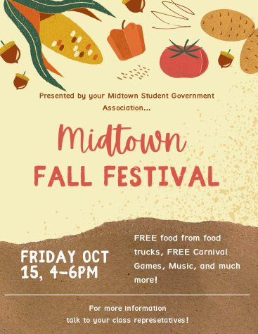 This year, the Student Government Association created a new Covid-safe alternative to the annual homecoming: a Fall Festival.