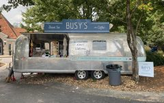 Busys shaved ice and coffee is located on the corner of Monroe and 10th street.